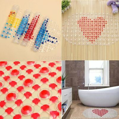 Non Slip Antiskid Rubber Tub Cartoon Massage Suction Bath Shower Bathroom Mat