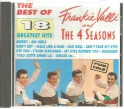 Frankie Valli & The 4 Seasons : The Best of Frankie Valli and the Four S CD