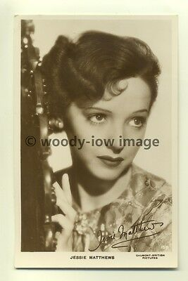 b0202 - Film Actress - Jessie Matthews - postcard