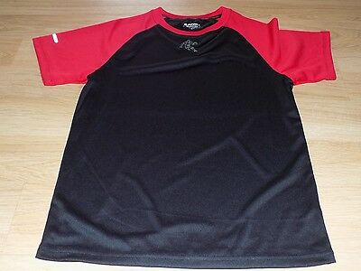 Boy's Size XL 14-16 AND1 Black Red Basketball Innovator S/S Tee Shirt Top New