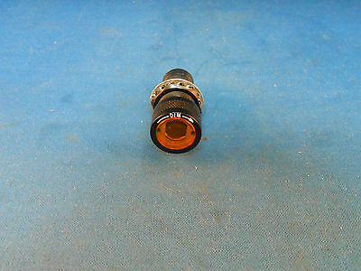 800035-4 Pan-A-Lite Amber Light Ind. Dimming And Blackout Device, New Old Stock