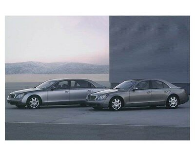 2004 Maybach Automobile Photo Poster zch8705