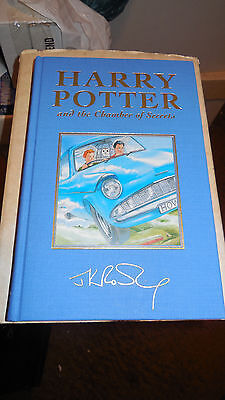 HARRY POTTER and the CHAMBER OF SECRETS DELUX BOOK  1ST EDITION  1ST PRINT  NEW