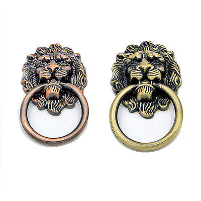 NEW Continental Vintage Lions-Head Window Chest Drawers Pulls Door Knobs Handles
