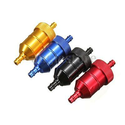 1/4'' 6mm Universal Motorcycle Pit Dirt Bike ATV Quad Inline Gas Fuel Filter NEW