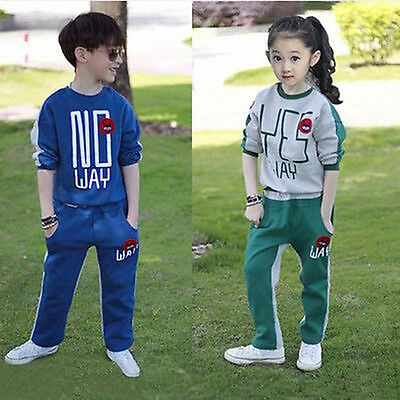 fashion spring autumn Boys' Clothing Leisure sports suit Suitable for 4-12 years