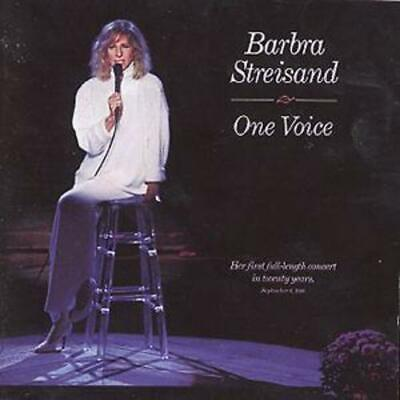 Barbra Streisand : One Voice CD (1987) Highly Rated eBay Seller, Great Prices