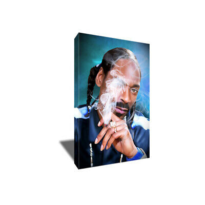 Hip Hop Icon SNOOP DOGG Smoke Poster Photo Painting Artwork on CANVAS Wall Art