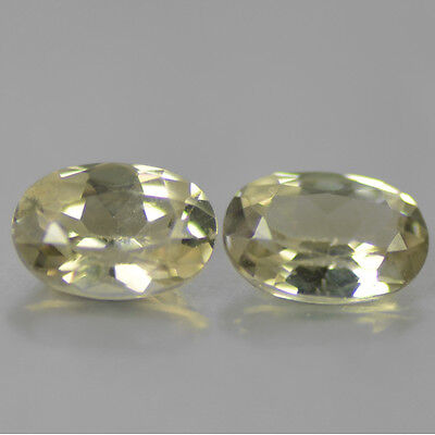 DIASPORE RARE NATURAL MINED STONES x 2 TOTAL 1.25Ct  MF4403