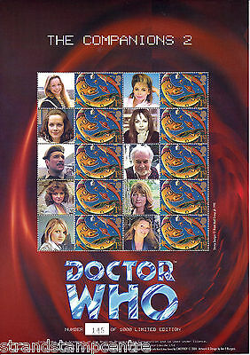 BC-026 - Doctor Who - The Companions 2 - Smilers Stamp Sheet