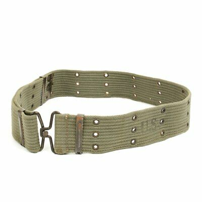 Original Greek Army Issue U.S. Style M1956 Individual Equipment Pistol Belt