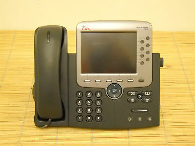 Cisco CP-7975G IP Color Phone Color Display VoIP Telefon Farb LCD
