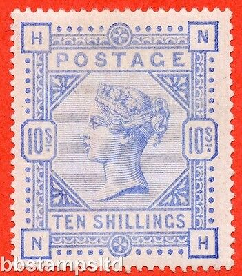 "SG. 183a. K14 (3). "" NH "". 10/- Pale ultramarine.  An UNMOUNTED MINT example."