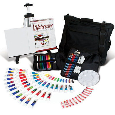 Artists 96 Piece All Media Travel Art Set In Carry Bag By Royal and Langnickel