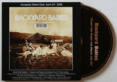 Backyard Babies People Like People Like Advance Cardcover CD