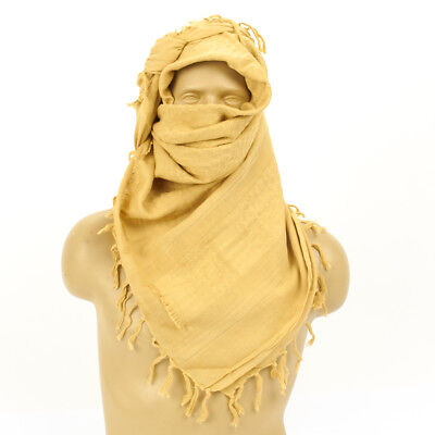 British Military Current Issue Shemagh Desert Head Dress- 100% Cotton