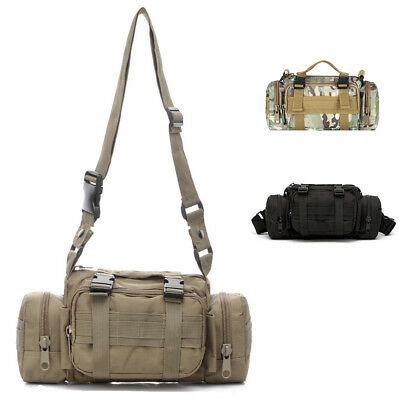 Cycling Hunting Camping 3P Swat Molle Utility Waist Police Duffle Duty Bag Pack