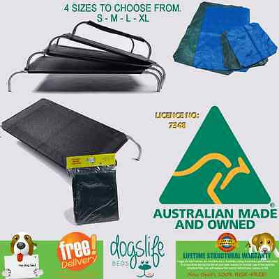 Dog beds Heavy Duty Dogslife Mesh replacement covers from $34.00*Australian Made