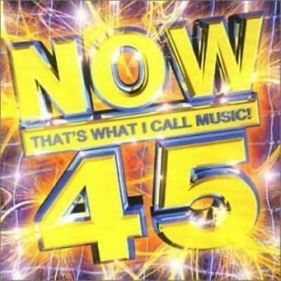 Various Artists : Now Thats What I Call Music! Volume 45 CD Fast and FREE P & P