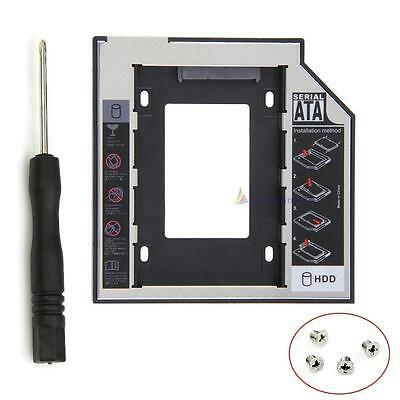 Universal 12.7mm SATAII SSD HDD disque dur Caddy pour CD Bay optique DVD-ROM DC