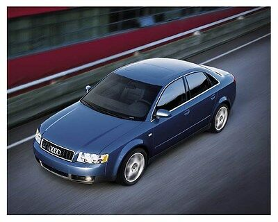 2003 Audi A4 Sedan Automobile Photo Poster zch8828
