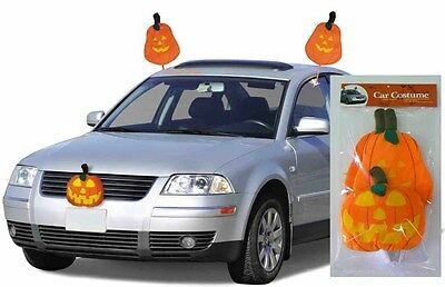 Halloween Pumpkin Car Costume Witch Ghost Trick Or Treat Decorations