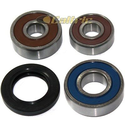 Rear Wheel Ball Bearings Seals Kit Fits KAWASAKI KE100 1976-2001