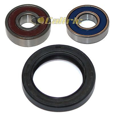 Front Wheel Ball Bearing and Seals Kit Fits KAWASAKI KMX125 1999 2000 2001