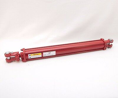 """Tie Rod Cylinder 2.5"""" x 24""""  Hydraulic Double Acting, 2.5 IN Bore x 24 IN Stroke"""