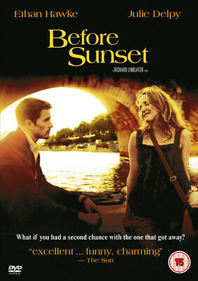 Before Sunset DVD (2005) Ethan Hawke, Linklater (DIR) cert 15 Quality guaranteed