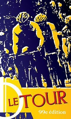 Vintage French Tour de France Cycling Poster A3 Print
