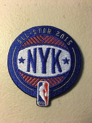 d6406de8946 2015 NBA All Star Game Jersey Patch New York Knicks NYK Madison Square  Garden