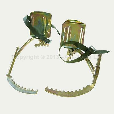 Electrician Work 6-10M Wooden Telephone Pole Tree Climbers Strong Teeth 823205