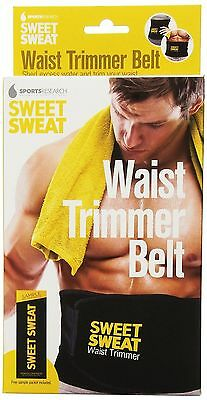 Sweet Sweat Premium Waist Trimmer belt 1-size-fits-all by Sports Research