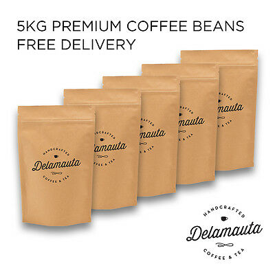 Espresso Premium Coffee Beans 5kg Free Shipping! Amazing Flavour! Highly Rated!
