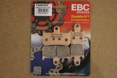 Ebc Fa442/4Hh Sintered Front Brake Pads For Yamaha Yzf R1 (2007 - 2014)