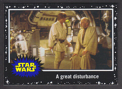 Topps Star Wars - Journey To The Force Awakens - Black Parallel Card # 31