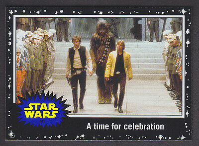 Topps Star Wars - Journey To The Force Awakens - Black Parallel Card # 40