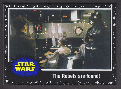 Topps Star Wars - Journey To The Force Awakens - Black Parallel Card # 45