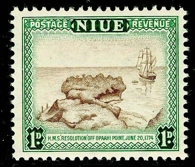 Sg114, 1d brown and blue-green, LH MINT.