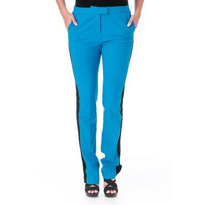 Elizabeth and James 7650 Womens Johnny Wool Woven Trm Casual Pants Trousers BHFO