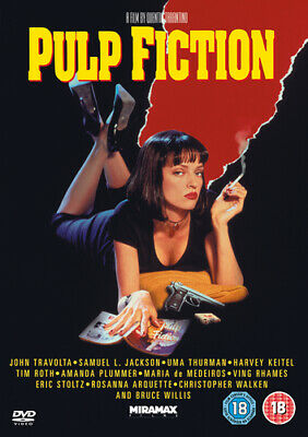 Pulp Fiction DVD (2008) Quentin Tarantino cert 18 Expertly Refurbished Product