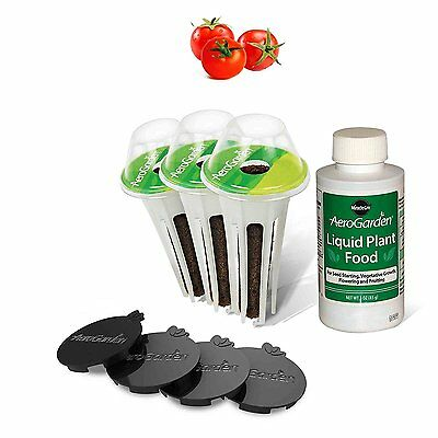 Miracle-Gro AeroGarden Red Heirloom Cherry Tomato Seed by AeroGrow (7-Pod) NEW
