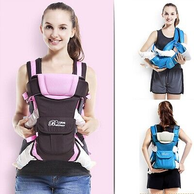 New Baby Carrier Front Pack Sling Infant Newborn Kid Carrier Backpack 3 Colors
