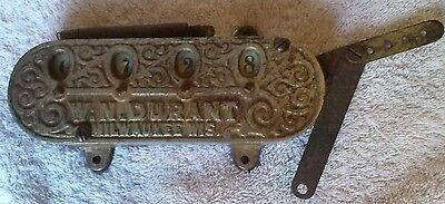 ANTIQUE - CAST IRON- RAILROAD - W.N. DURANT COUNTER - MILWAUKEE, WIS.- 1800s