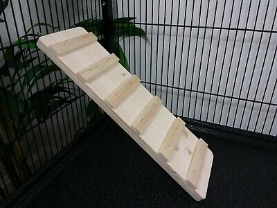 25-90cm Wooden ramp/ladder for Small animals rat,degu,chinchilla,guinea pig cage