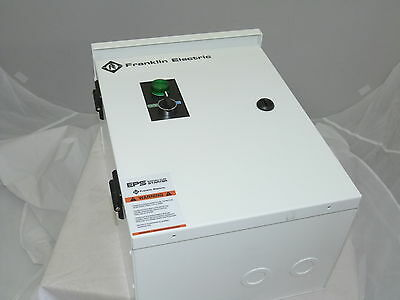 Pump Starter 10HP 240v 25HP 480v 40a Nema 3R With Electronic Overload NEW
