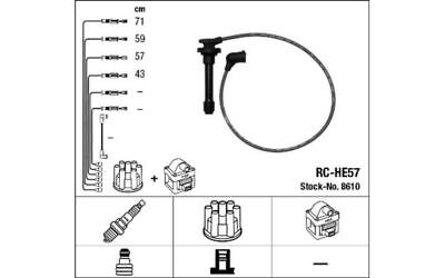 NGK Ignition Cable Kit for HONDA CRX PRELUDE CIVIC ROVER 600 8610