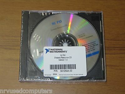 National Instruments NI PXI Chassis Resource CD v1.0 - New 501250A-00 501250A-01