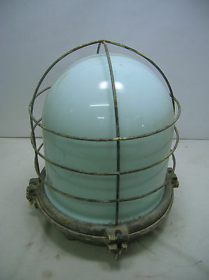Vintage Ship's Decklight Salvaged #11